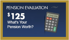 Get a pension evaluation in less than 1 week